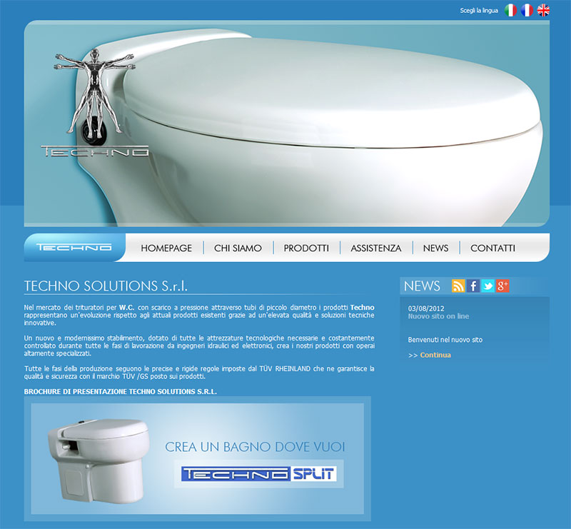 Wc Con Scarico Piccolo.Conto Graph Infomyweb Viterbo Olivetti Techno Solution S R L